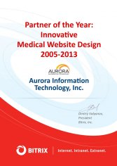 Partner of the year: Innovative Medical Website Design 2005-2013