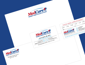 Urge Care Medical Logo Design for Print | Aurora IT