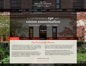Opthalmolody/eye doctor website design