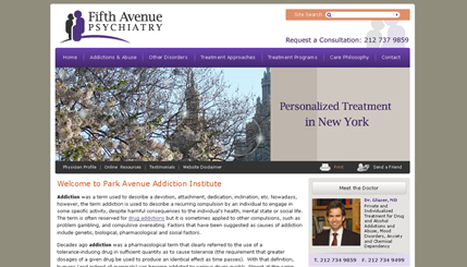 Psychiatrist Website Design Company