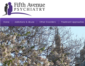 Psychiatrist website design