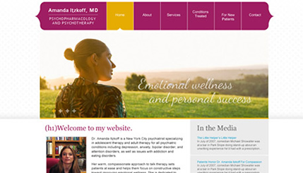 Psychotherapy Website Design