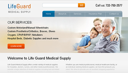 Online Medical Pharmacy Website Design