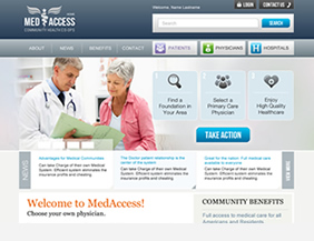 Medical website design company NYC