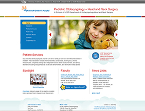 Pediatrician website and logo design