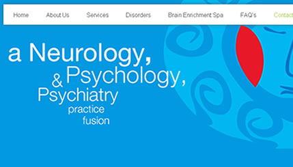 Psychiatry Website and Logo Design NYC